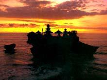 Tanah Lot Floating Temple